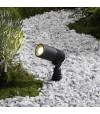 Spot projecteur à piquer ALDER 2W GU5.3 MR11 IP44 Blanc Chaud Orientable éxterieur Garden lights ampoule fournie - GL258006 - PROJECTEUR JARDIN - siageo-led.com
