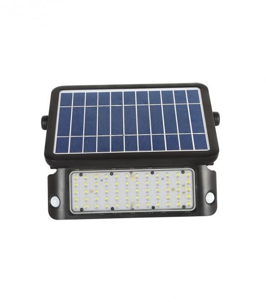 Projecteur Solaire 10W équiv 100W IP65 Blanc Neutre Orientable exterieur avec Batterie LEDIN - PROJECTEUR JARDIN - siageo-led.com