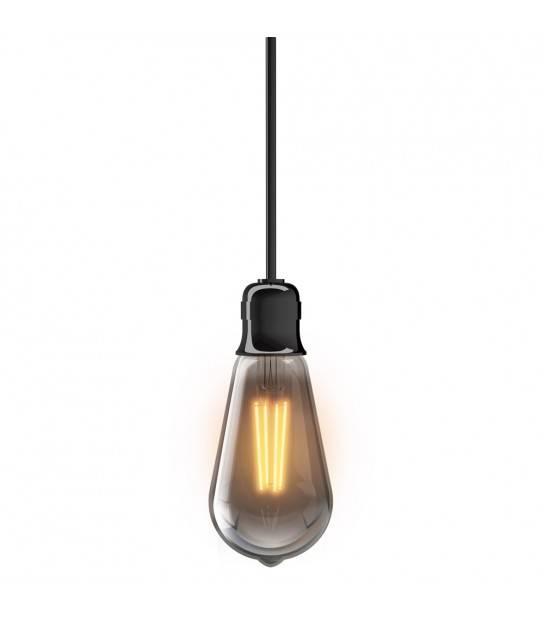 Ampoule LED filament E27 ST64 VINTAGE 4W 230Lm (équiv 23W) Blanc Chaud 320° XANLITE - PLAFONNIER & SUSPENSION DESIGN - siageo-led.com