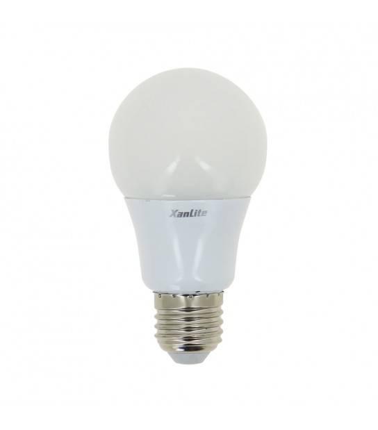 Ampoule LED E27 A60 3 Températures de blanc MEMO-K 10W 806Lm (équiv 60W) TriColor 200° XANLITE - SE60GCCT - CYBER WEEK - siageo-led.com
