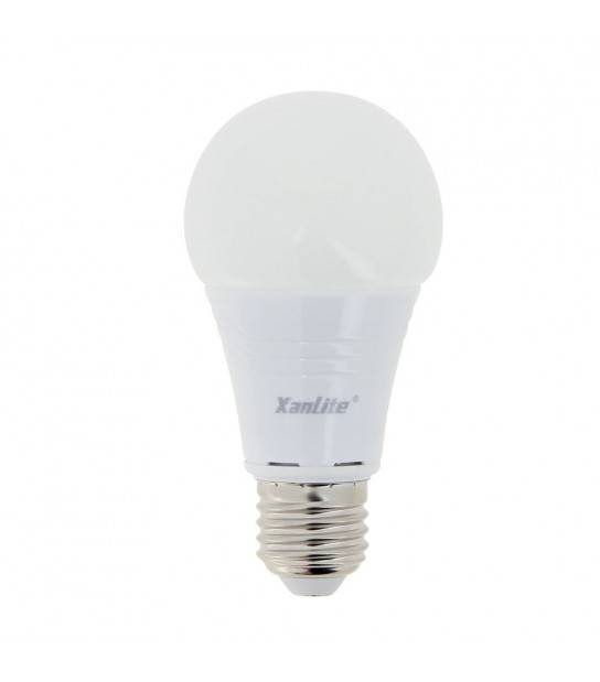 Ampoule LED E27 A60 Dimmable LED EVOLUTION 9.4W 806Lm (équiv 60W) Blanc Chaud 180° XANLITE - EE806GD - AMPOULE E27 - siageo-led.com