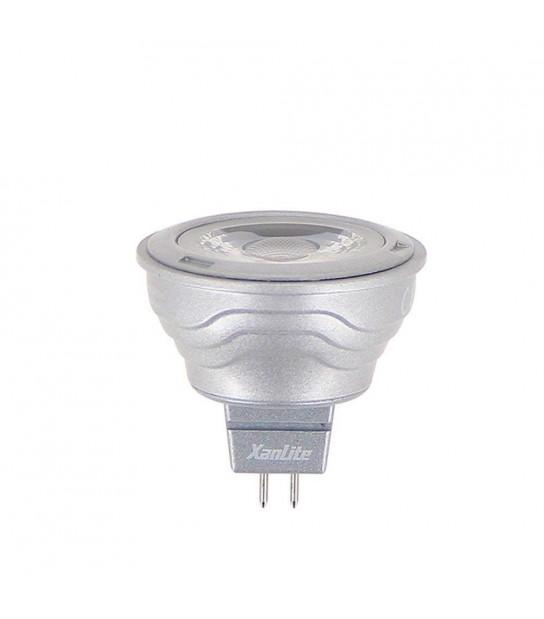 Ampoule LED GU5.3 MR11 5.5W 345Lm (équiv 35W) Blanc Chaud 36° 12V XANLITE - VM35S - AMPOULE GU5.3 - siageo-led.com