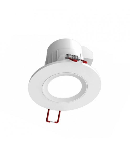 Spot LED intégré étanche gris mat ou blanc 5.2W 345Lm (équiv 50W) Blanc Neutre 100° IP65 XANLITE - SEL345CWIP - SPOT LED INTERIEUR - siageo-led.com