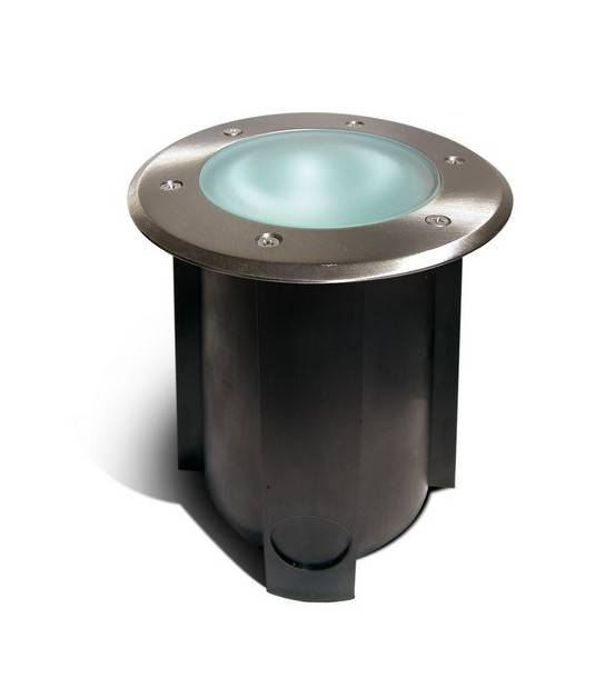spot encastrable rond pour terrasse bois 16cm ref 65596 spot led exterieur siageo. Black Bedroom Furniture Sets. Home Design Ideas