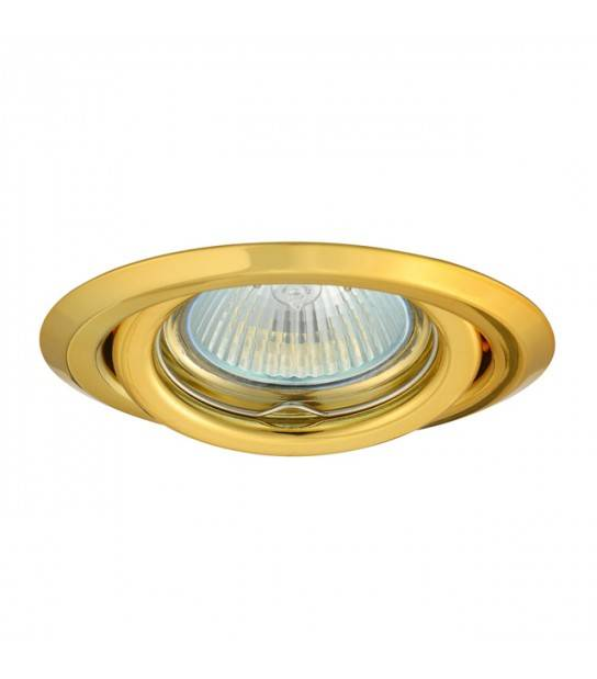 Spot Orientable 15° Or Modèle Argus par Kanlux ref 304 - 304 - ENCASTRABLE - siageo-led.com