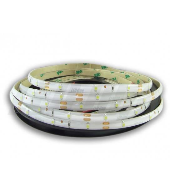 Bande 150 LED SMD 3528 de 5 mètres 12V Blanc chaud 3000K 120° Étanche IP65 LEDIN - 240072 - RUBAN LED - siageo-led.com