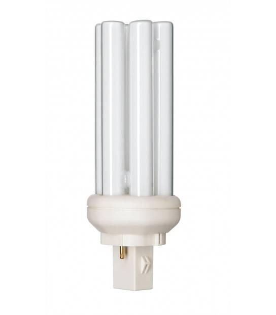 Ampoule PL-T 26W 830 2P (MASTER) Blanc Chaud - 2-Pins Philips - 61102470 - AMPOULE GX24D-3 - siageo-led.com