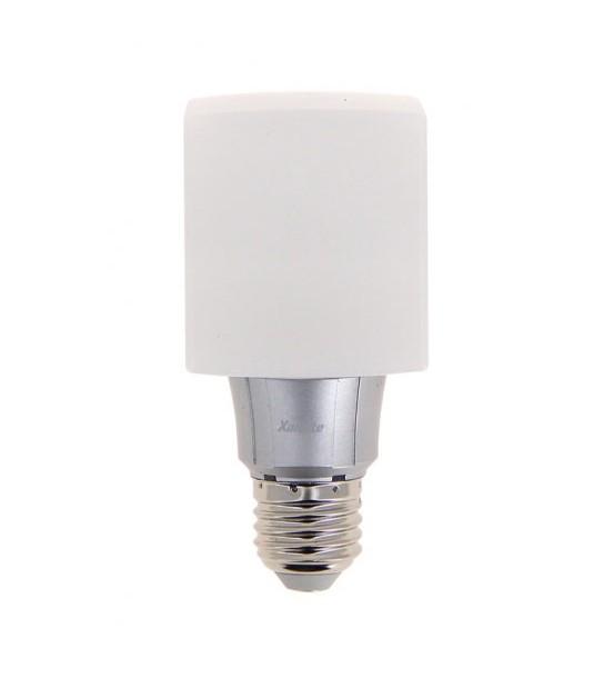 Ampoule LED E27 Cube opaque Cube LED opaque 8W 638Lm (équiv 50W) Blanc Chaud 280° XANLITE - E27 - siageo-led.com