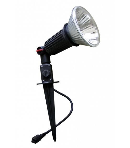 Projecteur plastique E27 IP44 PAR38 EASY CONNECT - 65100 - SPOT LED EXTERIEUR - siageo-led.com