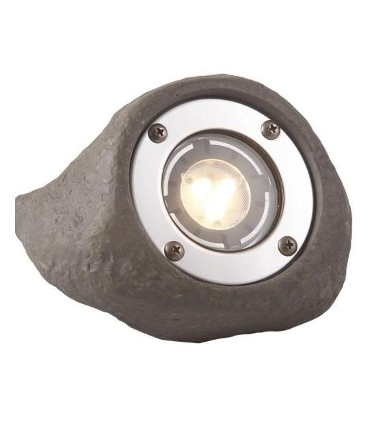 Spot projecteur LAPIS 3W GU5.3 MR16 IP68 Blanc Chaud éxterieur Garden lights ampoule fournie - GL3577441 - PROJECTEUR JARDIN - siageo-led.com