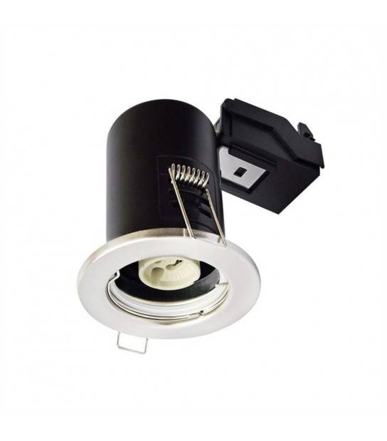 Spot encastrable anti-feu downlight Blanc GU10 IP20 V-TAC - 3681 - ANTI-FEU - siageo-led.com