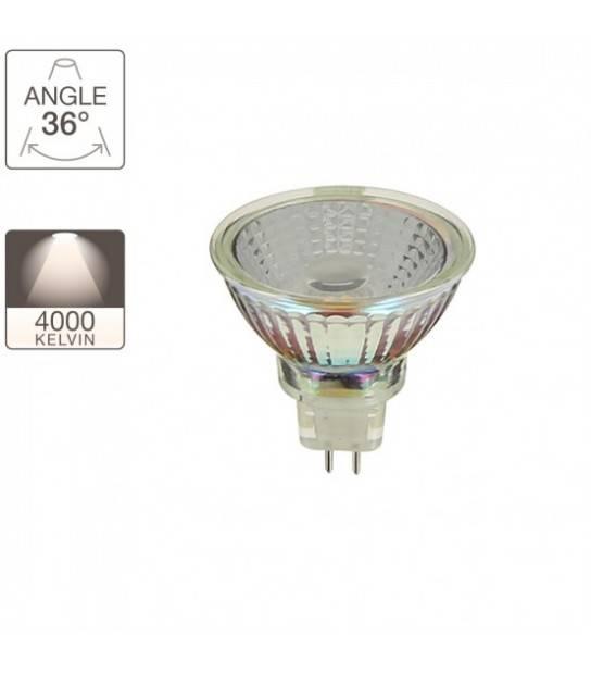 Spot 620 lumens Equivalence 50W Culot GU5,3 36° 4000K Xanlite - AMPOULE GU5.3 - siageo-led.com