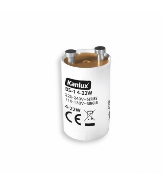 Starter pour Tubes fluorescents BS-1 4-22W - ACCESSOIRES - siageo-led.com