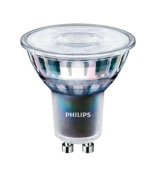 Ampoule Master LED ExpertColor 5.5w équ 50w GU10 Blanc Chaud Philips - 70767800 - AMPOULE GU10 - siageo-led.com