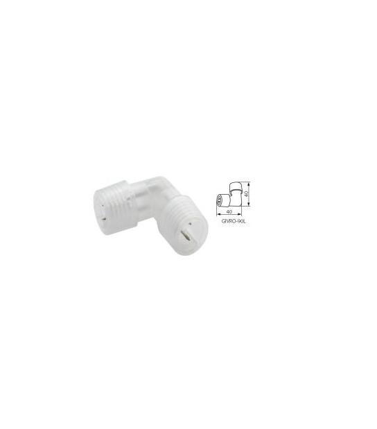 Connecteur en L pour cordon lumineux de la gamme GIVRO IP44 Kanlux - 8636 - CYBER WEEK - siageo-led.com