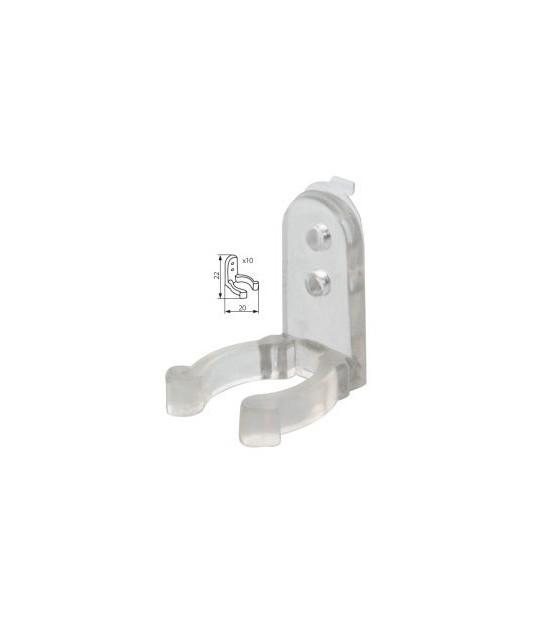 Pack de 10 systemes de fixation pour suspendre les tubes à leds GIVRO Kanlux - 8640 - CYBER WEEK - siageo-led.com