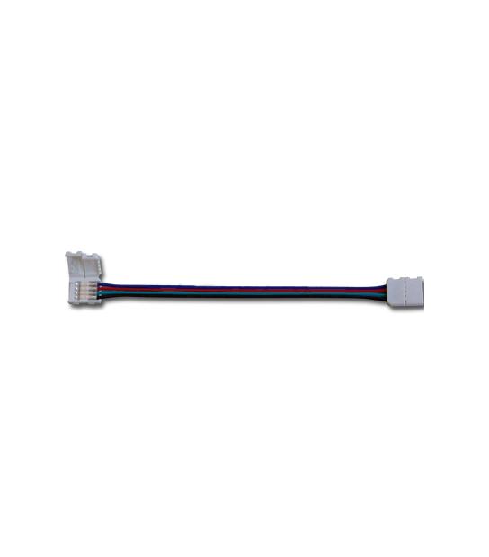 Connecteur flexible pour ruban LED 5050 RGB V-TAC - 3502 - ACCESSOIRES RUBAN LED - siageo-led.com