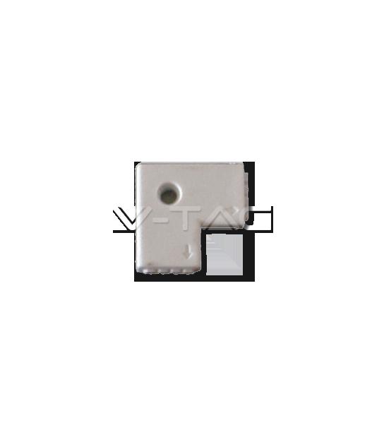 Connecteur en L pour ruban LED 5050 V-TAC - 3511 - ACCESSOIRES RUBAN LED - siageo-led.com