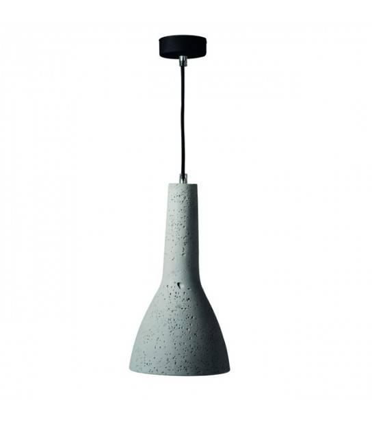 Lampe suspendue Beton ETISSA 220V 40W IP20 KANLUX - 27000 - PLAFONNIER & SUSPENSION DESIGN - siageo-led.com