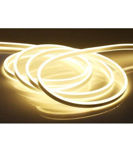 NeonFlex Blanc Chaud 24v 8w IP65 400lm 10mètres V-TAC - 2513 - NEON FLEX - siageo-led.com