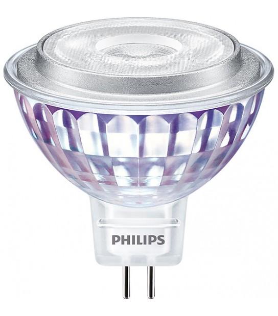 Ampoule Master LED GU5.3 12V 7W-50W 4000K Blanc Neutre 660LM PHILIPS - 81564900 - AMPOULE GU5.3 - siageo-led.com