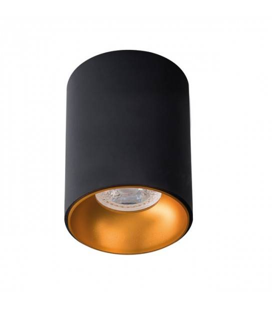 Spot encastrable Noir et Bronze collection Riti KANLUX - 27571 - KANLUX - siageo-led.com