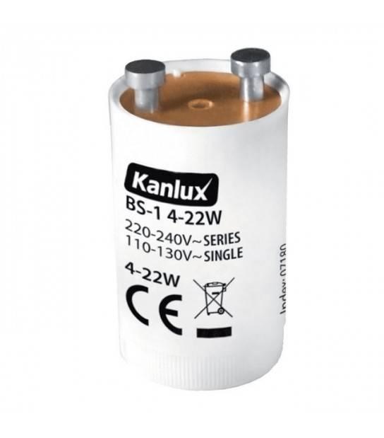 Starter pour Tubes fluorescents BS-2 4-65W KANLUX - 7181 - ACCESSOIRES - siageo-led.com