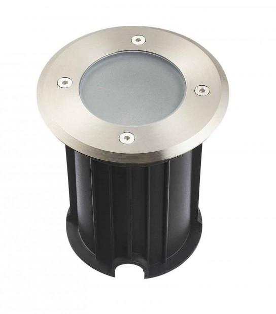 Spot encastrable Rond MIAMI Inox 316L (montage en série avec 2 presse étoupe) GU10 IP67 HIPOW - ENCASTRABLE JARDIN - siageo-led.com