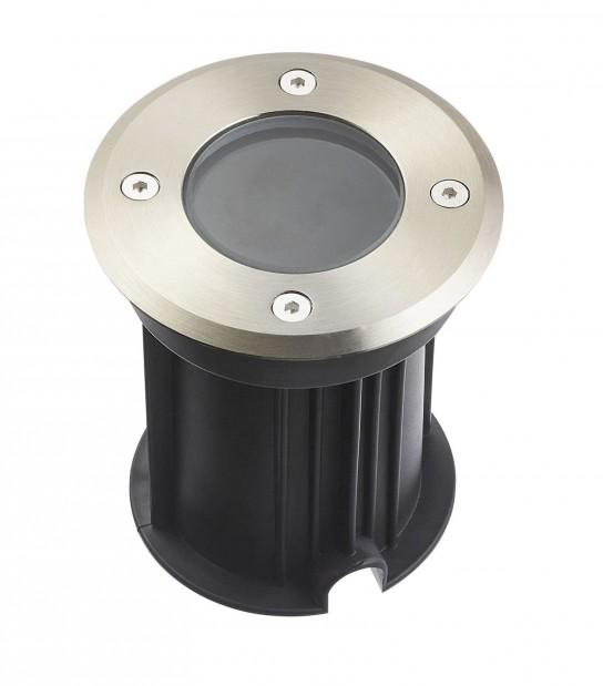 Spot encastrable Rond MIAMI Inox 316L (montage en série avec 2 presses étoupe) CLEAR GU5.3 12V IP67 HIPOW - ENCASTRABLE JARDIN - siageo-led.com