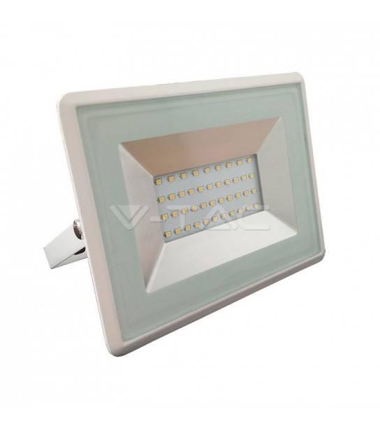 Projecteur LED SMD E-Series Floodlight 30W 220V 2550LM 3000K IP65 Blanc chaud V-TAC - 5955 - CYBER WEEK - siageo-led.com