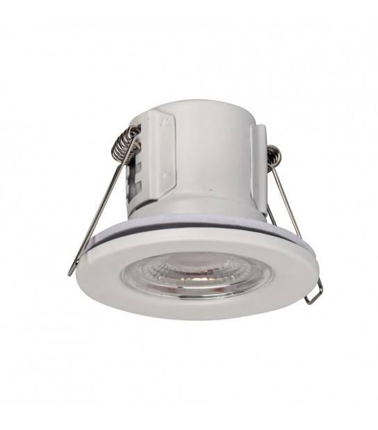 Spot LED SMD Anti FEU 5W IP65 4000K Blanc Neutre VTAC - 885 - ANTI-FEU - siageo-led.com