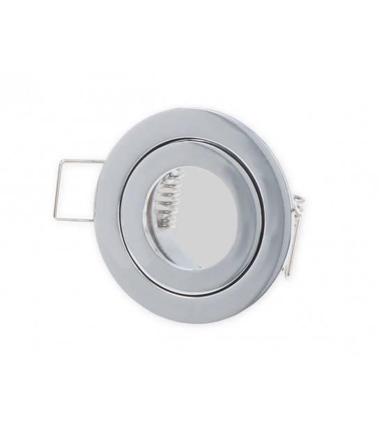 Mini spot encastrables Chrome Salle de bain MR11 IP20/44 GU5.3 Rond LEDLINE - 249273 - SPOT LED INTERIEUR - siageo-led.com