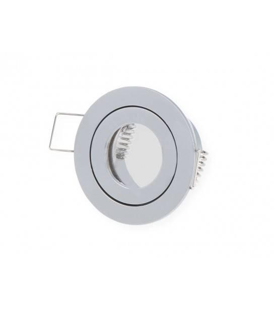 Mini spot encastrables Chrome MR11 Rond LEDLINE - SPOT LED INTERIEUR - siageo-led.com