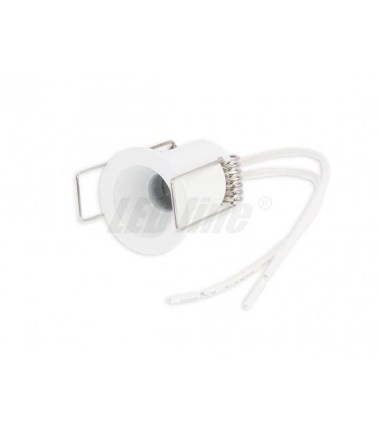 Mini Spot GU5.3 GU4 MR11 circulaire blanc LEDLINE - 249341 - SPOT LED INTERIEUR - siageo-led.com