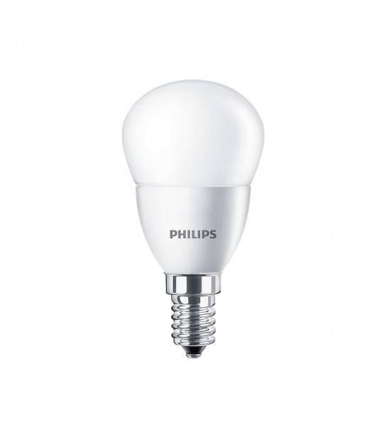 Ampoule E14 CorePro lustre ND 5.5W 220V 470LM 2700K Blanc Chaud PHILIPS - 47489100 - AMPOULE E14 - siageo-led.com