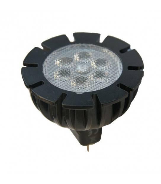Ampoule LED 20SMD 12V GU5.3 2.5W MR16 160LM IP68 3000K Blanc Chaud GardenLights - 6225011 - AMPOULE GU5.3 - siageo-led.com