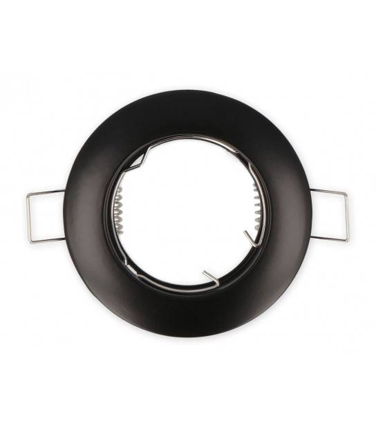 Spot encastrable Noir Rond GU5.3 fixe LED LINE - 249235 - ENCASTRABLE - siageo-led.com
