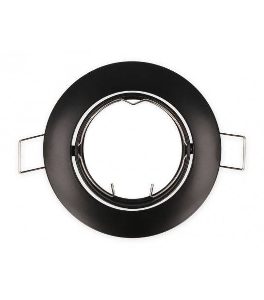 Spot encastrable Noir Rond GU5.3 Amovible LED LINE - 249259 - ENCASTRABLE - siageo-led.com