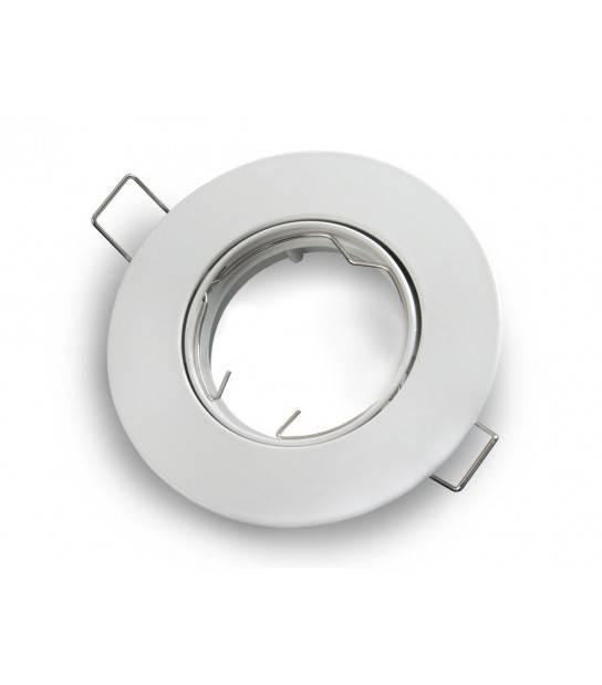spot encastrable Rond Amovible Blanc Mat MR16 LED LINE - 242915 - SPOT LED INTERIEUR - siageo-led.com