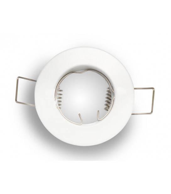 Spot encastrable Rond Blanc Mat MR11 LED LINE - 245114 - SPOT LED INTERIEUR - siageo-led.com