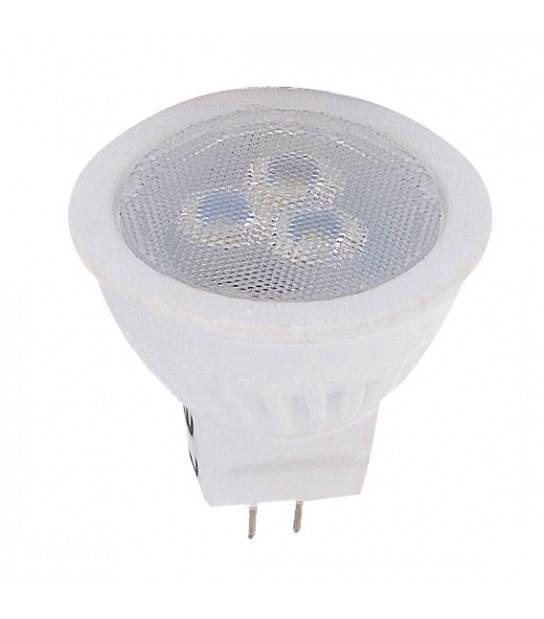 Ampoule LED GU5.3 SMD 2835 3W 255Lm Blanc Neutre 38° LED Line - 248146 - GU5.3 - siageo-led.com
