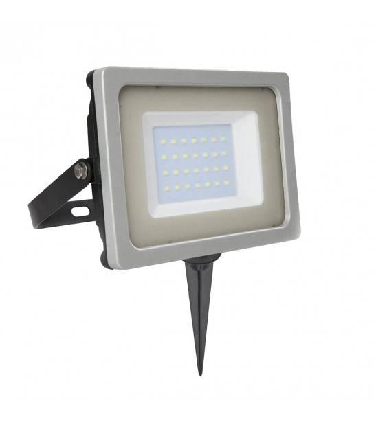 Pack projecteur LED SMD E+ Support à piquer Noir V-TAC - PROJECTEUR ARBRE - siageo-led.com