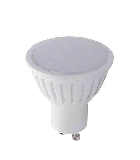 Ampoule LED GU10 SMD TOMI 7W 520Lm (équiv 43W) Blanc Froid 120 degré KANLUX - 22820 - AMPOULE GU10 - siageo-led.com