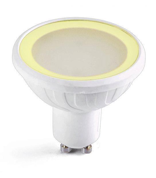 Ampoule LED SMD GU10 MR20 Blanc chaud 3000K dimmable verre dépoli 6,5W Easy Connect - 67846 - AMPOULE GU10 - siageo-led.com