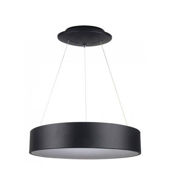 Luminaire à suspension LED Dimmable Noir 30W 3000K 2250LM V-TAC - 3996 - PLAFONNIER & SUSPENSION DESIGN - siageo-led.com