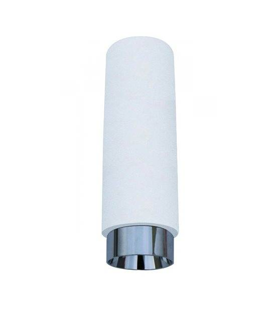 Luminaire à suspension en plâtre Blanc Chrome GU10 V-TAC - 3129 - EN PLATRE - siageo-led.com