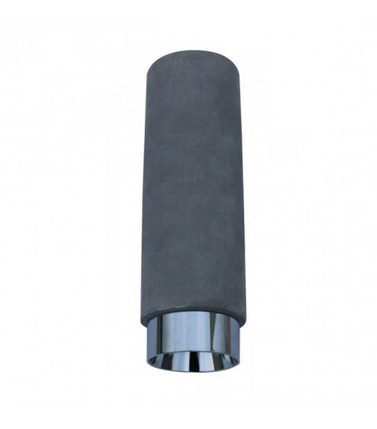 Luminaire à suspension en plâtre Gris Chrome GU10 V-TAC - 3135 - En Plâtre - siageo-led.com