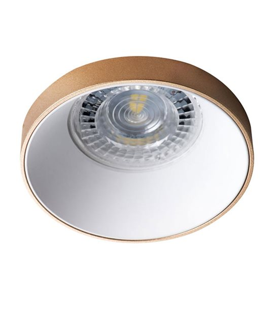 Spot Encastrable SIMEN DSO G/W Blanc et Dorée MR16 IP20 KANLUX - 29142 - ENCASTRABLE - siageo-led.com