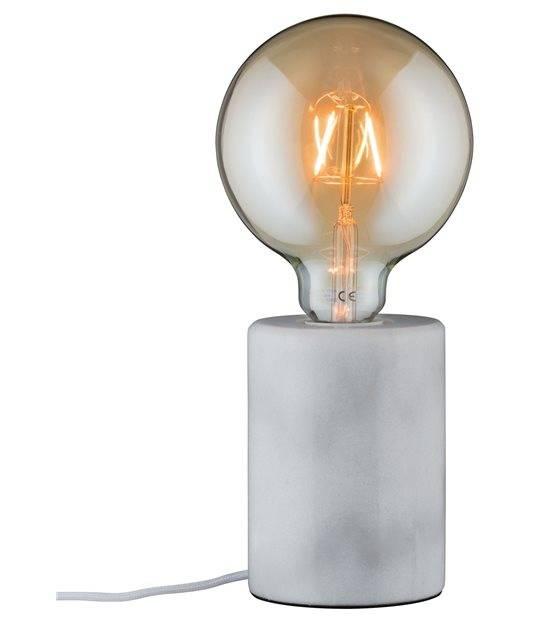 Lampe de table SOA rond max 1x PAULMANN - 79601 - ECLAIRAGE DECORATIF - siageo-led.com