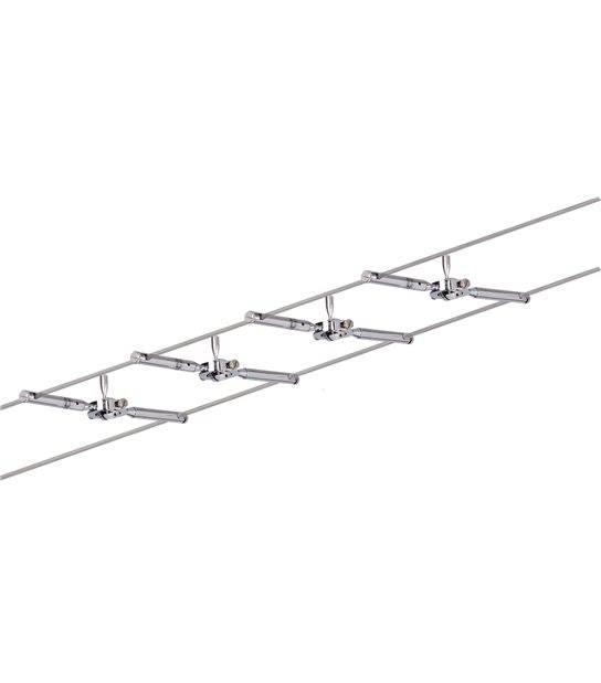 Spot sur câble TOGO 4spots GU5.3 avec câble sans ampoule PAULMANN - 94146 - PLAFONNIER & SUSPENSION DESIGN - siageo-led.com